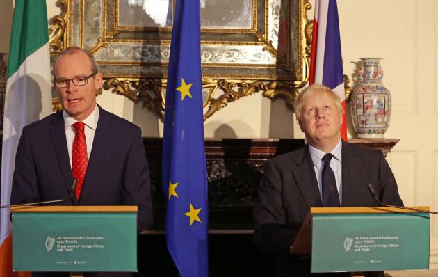 Boris Johnson visit to Ireland