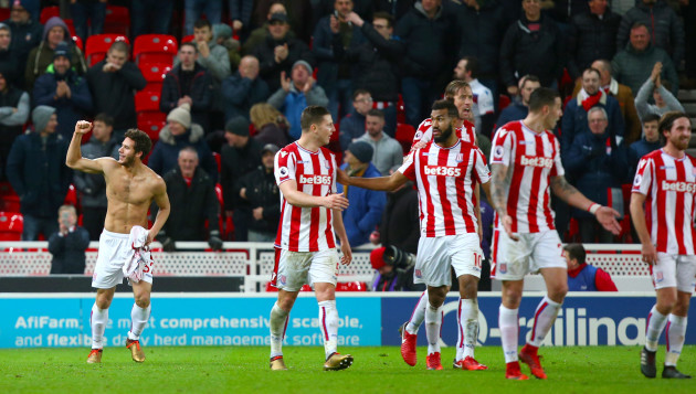 Stoke City v West Bromwich Albion - Premier League - Bet365 Stadium