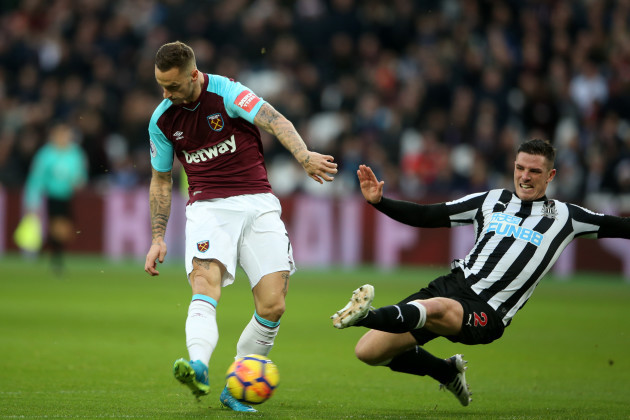 West Ham United v Newcastle United - Premier League - London Stadium