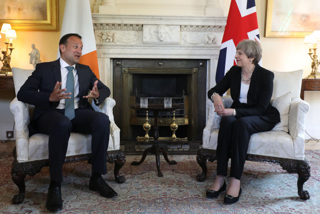 Leo Varadkar meets Theresa May