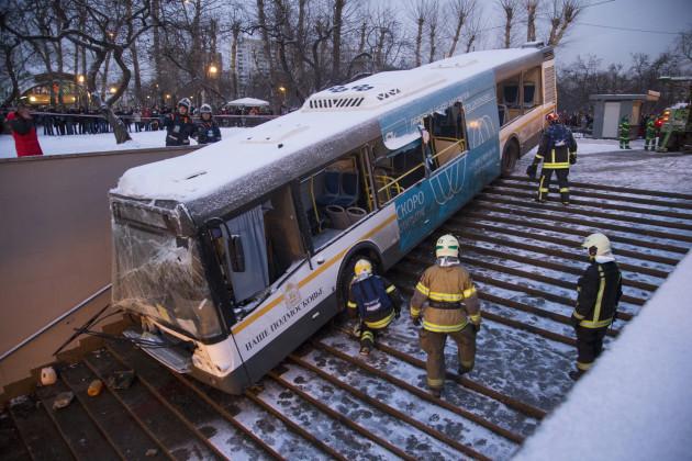 Russia Bus Crash