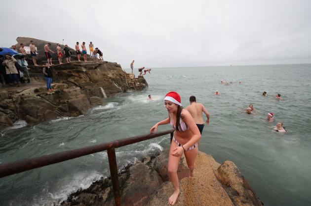 Christmas Day swim- Dublin