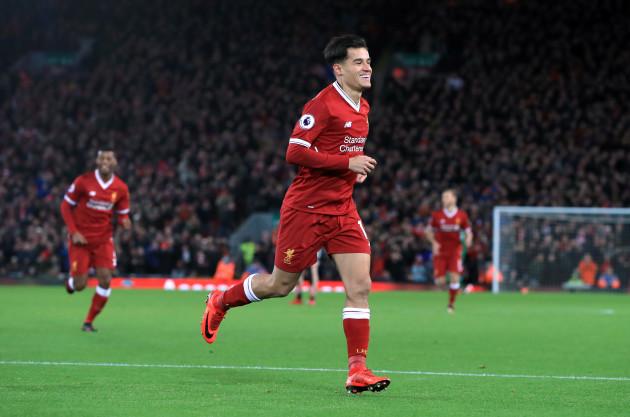 Liverpool v Swansea City - Premier League - Anfield