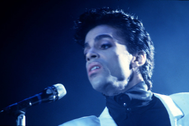 Prince live 80er Jahre