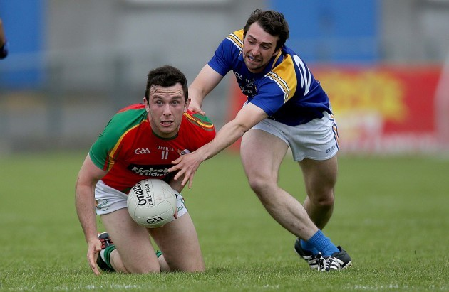 Pauric Gill with Daragh Foley