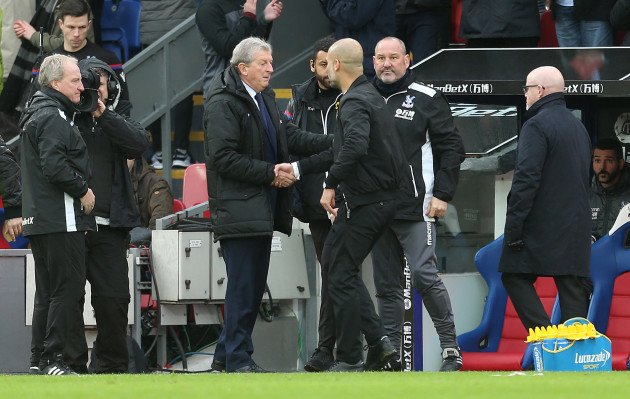Crystal Palace v Manchester City - Premier League - Selhurst Park