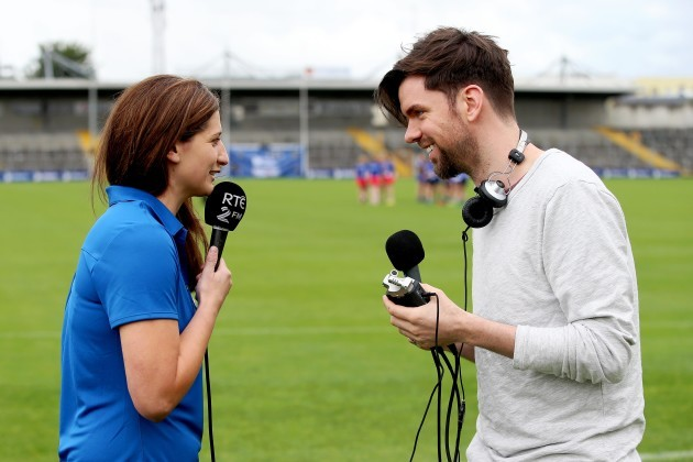 Eoghan McDermott with Mags Darcy