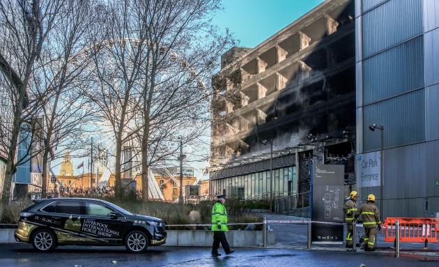 Liverpool multi-storey car park blaze