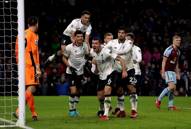 Burnley v Liverpool - Premier League - Turf Moor