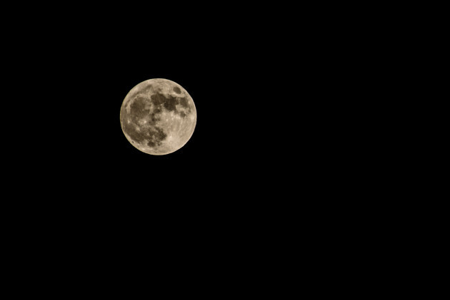 Supermoon- New Years Day
