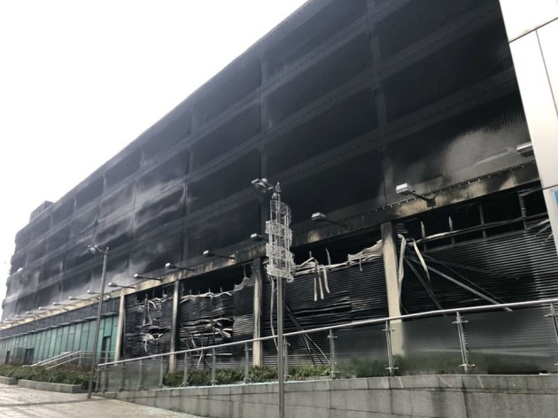 None Injured In Echo Arena Carpark Blaze
