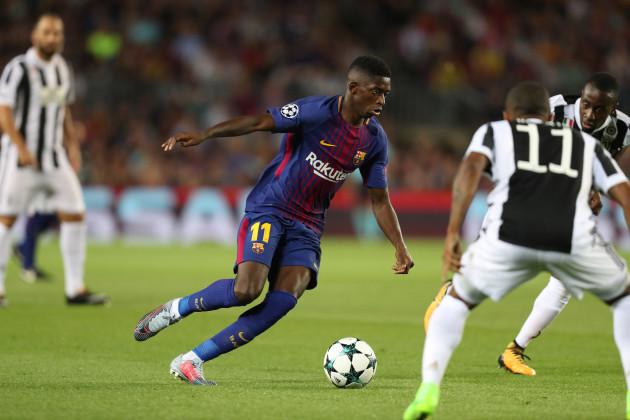 Football - UEFA Champions League - FC Barcelona vs Juventus FC