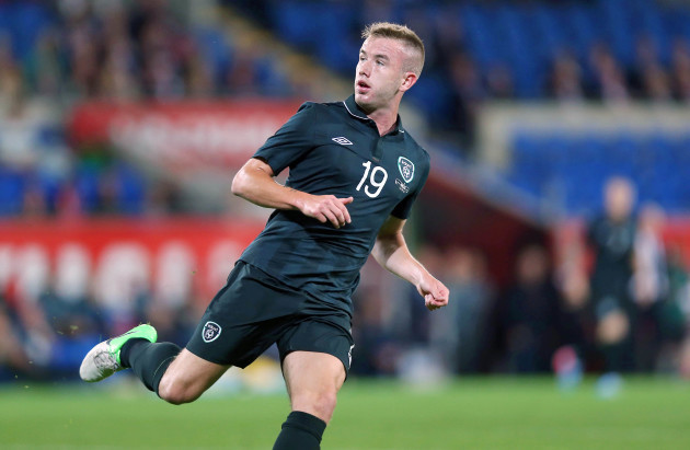 Paddy Madden makes his debut