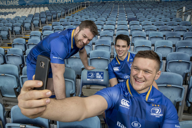 Sean O'Brien, Joey Carbery and Andrew Porter