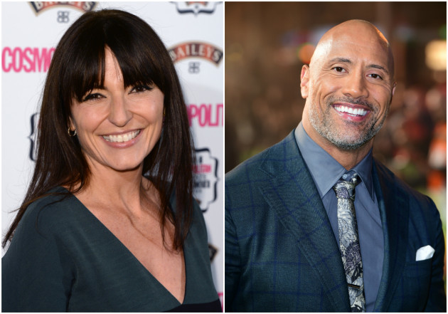 Image result for Davina McCall Makes A Pass At The Rock