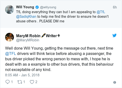 Will Young experiences 'homophobic abuse' from London bus driver
