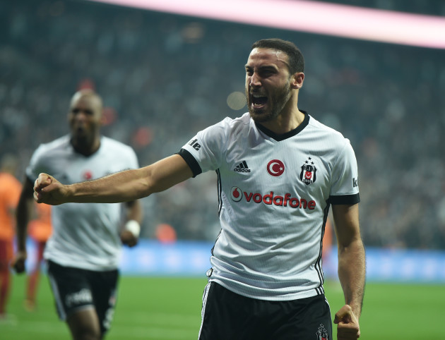 (SP)TURKEY-ISTANBUL-SOCCER-TURKISH SUPER LEAGUE-BESIKTAS VS GALATASARAY
