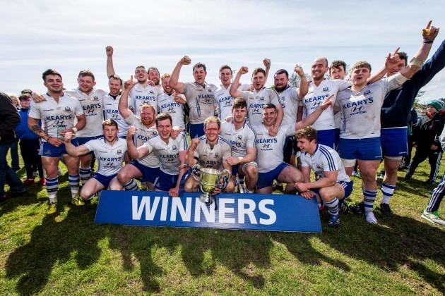Cork Con celebrate winning The Bateman Cup