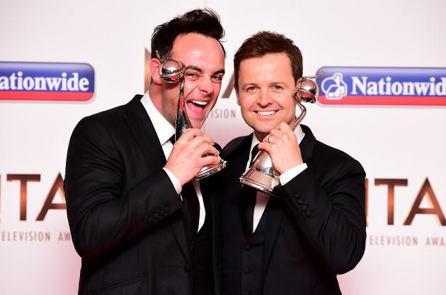 National Television Awards 2016 - Press Room - London
