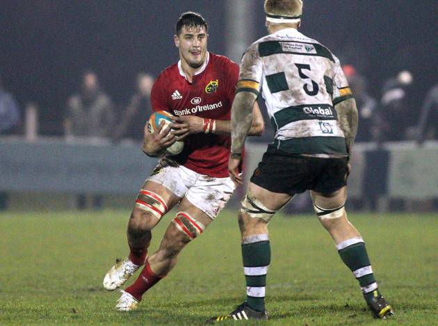 No senior debut against Castres as Grobler lines out for Munster A