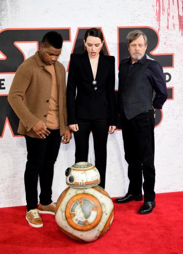 Star Wars: The Last Jedi Photocall - London