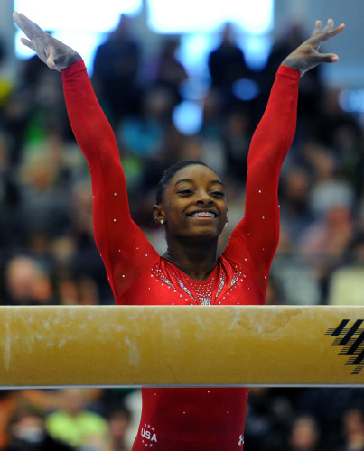 Girl gymnast young