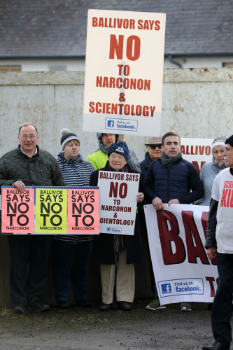17/1/2018 Anti Scientology and Narconon Protests