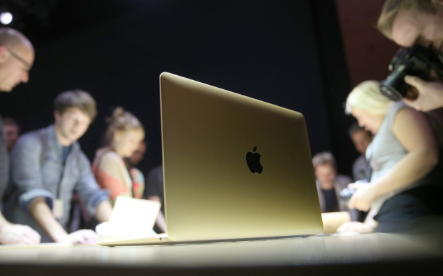 Presentation of Apple's new Apple MacBook in Berlin