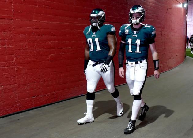 Eagles, Rams, Football