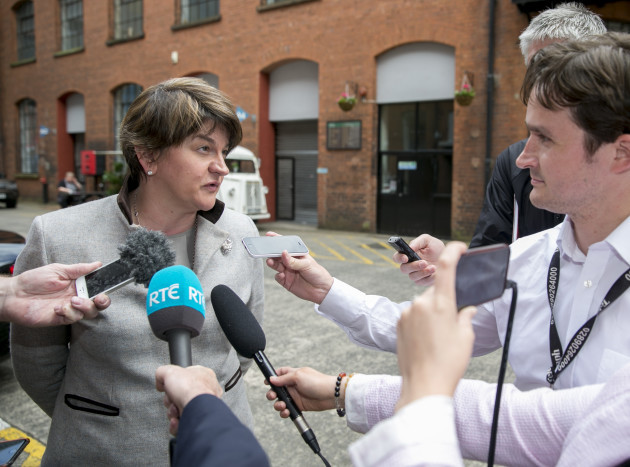 Arlene Foster opens Media Design and Print offices