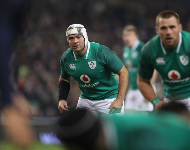 Ireland's Rory Best