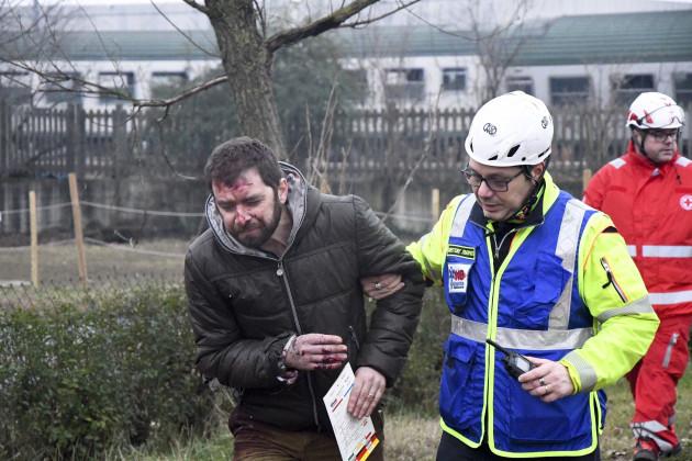Italy Train Derailment