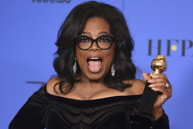 Oprah reacts to 2020 rumors: