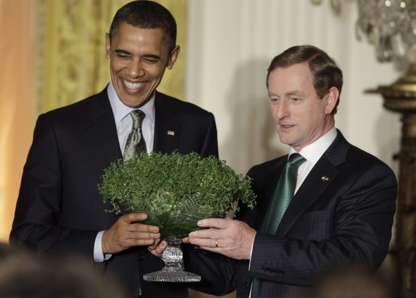 Image result for shamrock exchange, white house