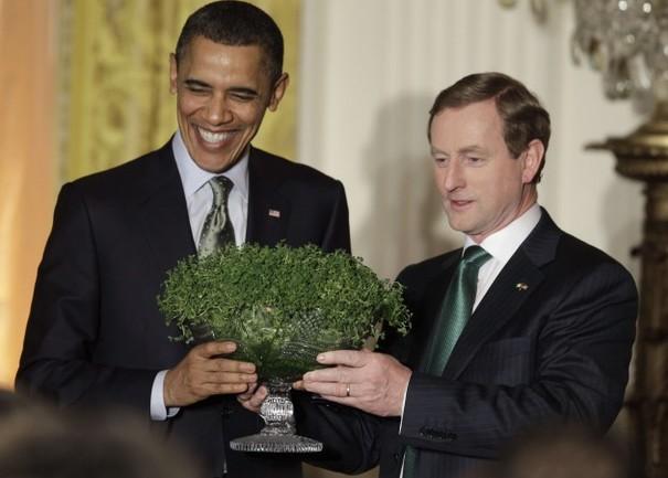 Image result for shamrock exchange, white house