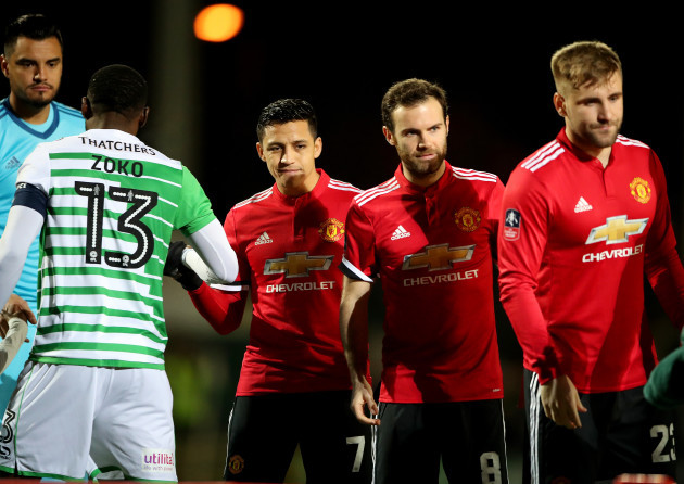 Yeovil Town v Manchester United - Emirates FA Cup - Fourth Round - Huish Park