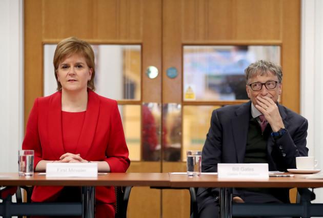 Bill Gates in Scotland