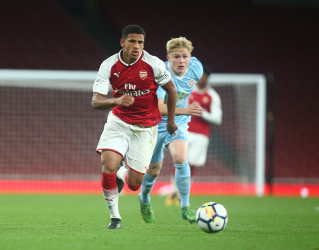Ex-Ireland U17 midfielder joins Barcelona B from Arsenal