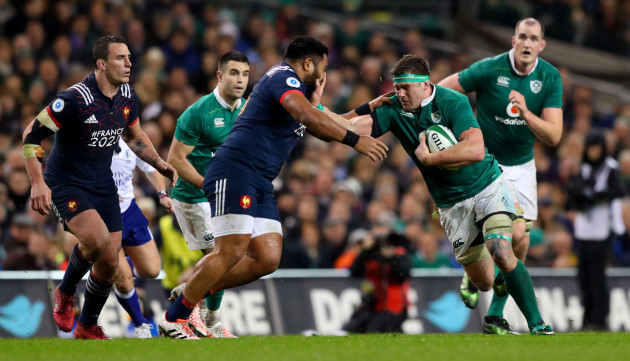 Christopher Tolofua and CJ Stander