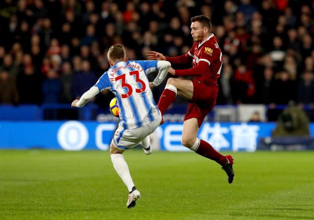 Huddersfield v Liverpool - Premier League - John Smith's Stadium