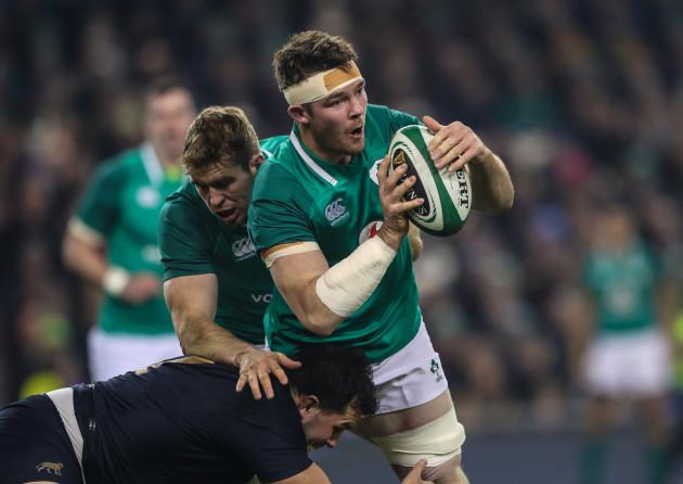 Ireland's Peter O'Mahony
