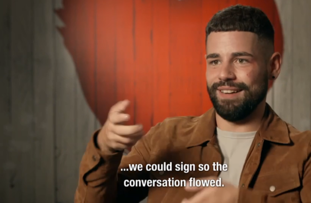 This Show Featured A Gay Date Had Completely Through Sign Language