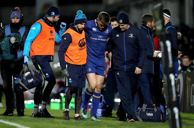 Garry Ringrose goes off injured