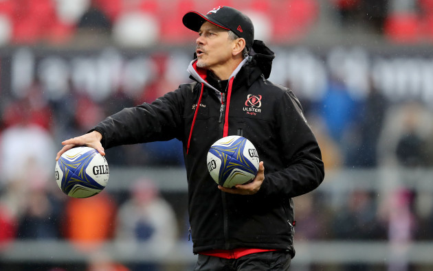 Les Kiss to leave Ulster Rugby post with immediate effect