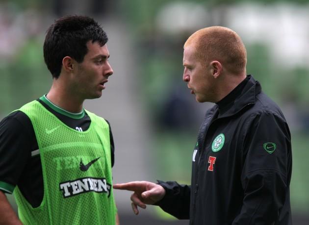 Soccer - Pre Season Friendly - The Dublin Super Cup - Airtricity XI v Celtic - Aviva Stadium