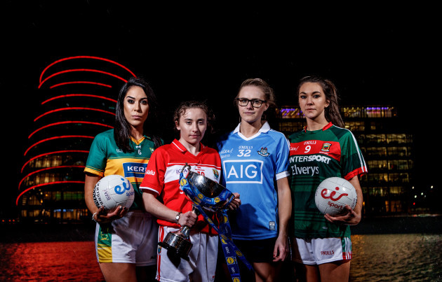 Aislinn Desmond, Melissa Duggan, Amy Connolly and Niamh Kelly