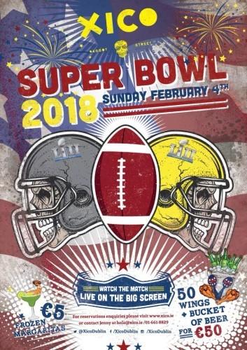 Xico Super Bowl LII