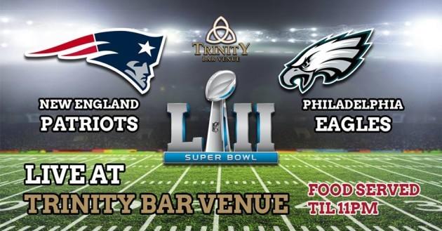 Trinity Bar Super Bowl LII