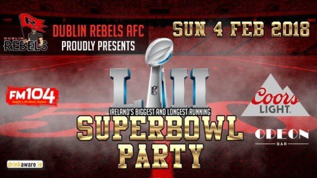 The Odeon Super Bowl LII