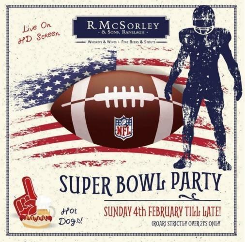 McSorleys Super Bowl LII
